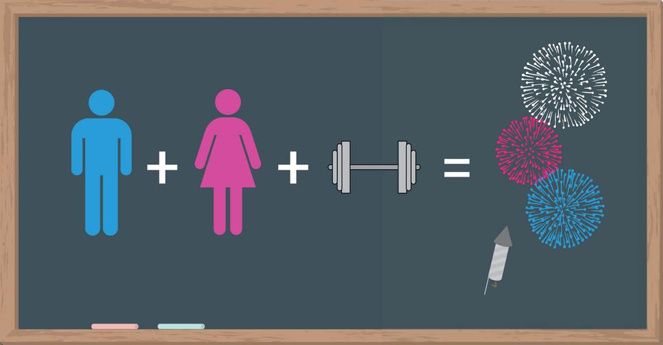 entrenamiento de fuerza y sexo